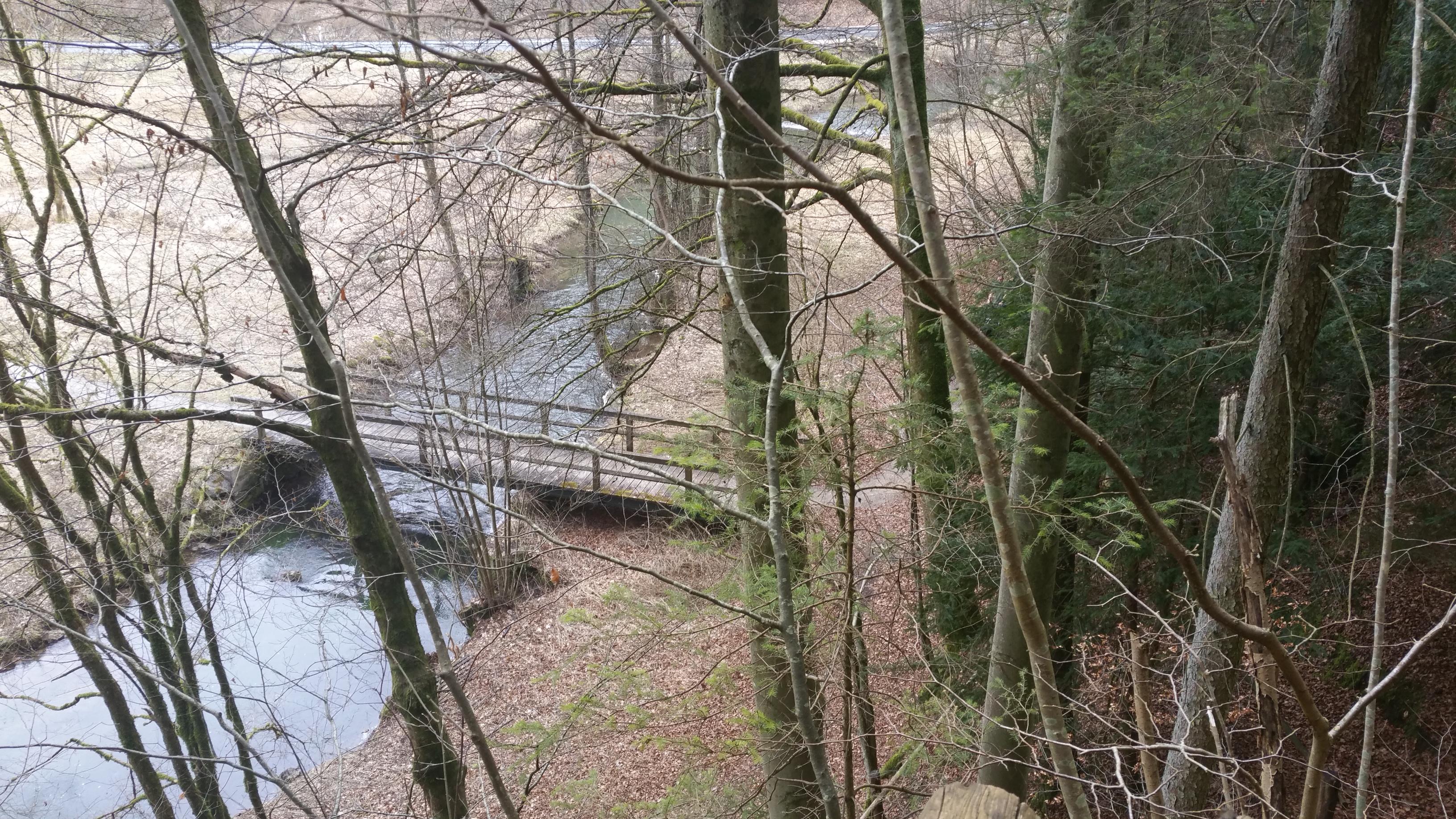 Brücke über die Püttlach