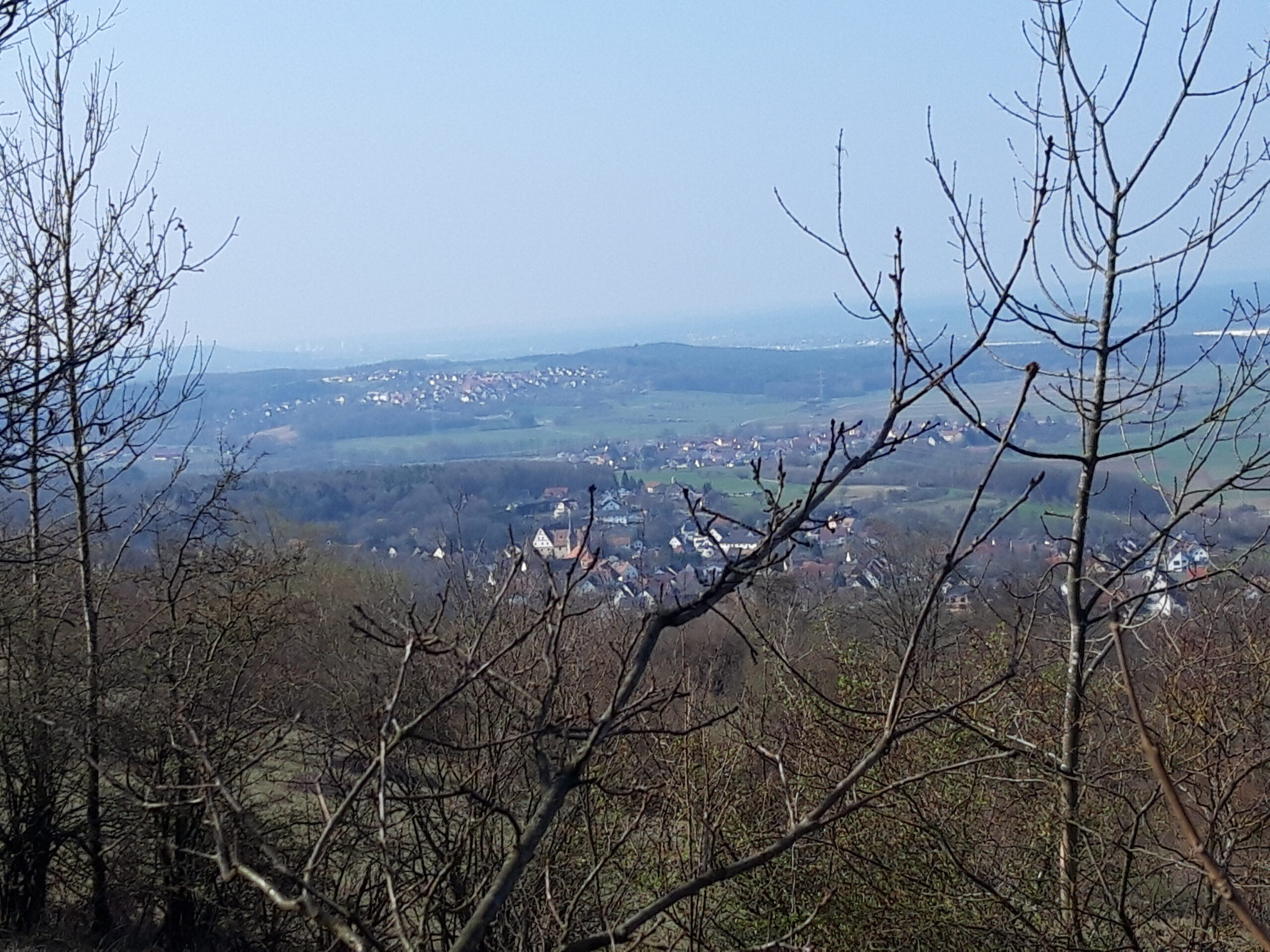 Walberla Richtung Erlangen