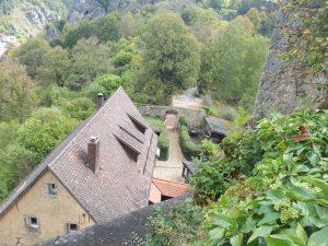 Innenhof der Unterburg