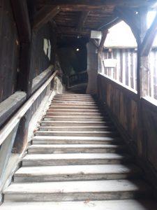 Treppe zur Oberburg