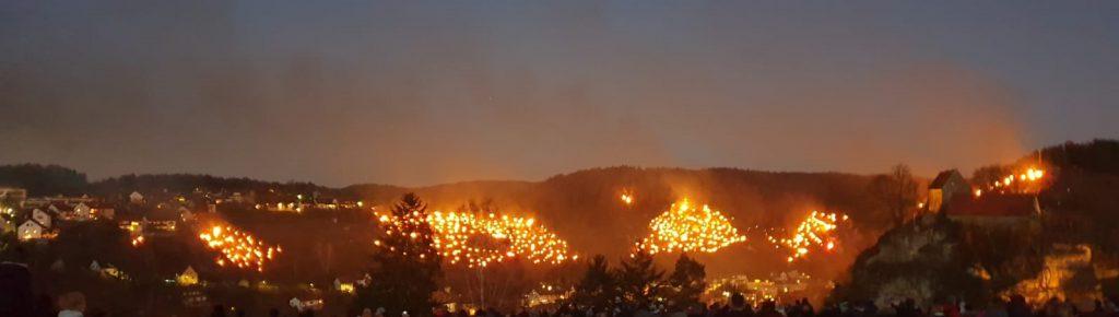Lichterfest Pottenstein