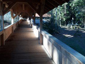 Brücke Wolfsgehege