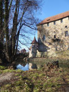 Das Wenzelschloss in Lauf an der Pegnitz