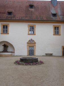 Innenhof Schloss Greifenstein